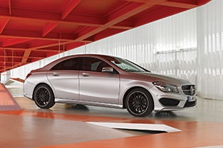 2016 Mercedes CLA250 Coupe Sport
